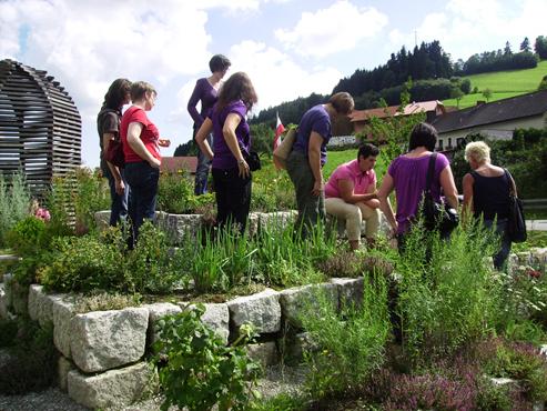 Kräuterführung © Hochschule für Agrar- und Umweltpädagogik